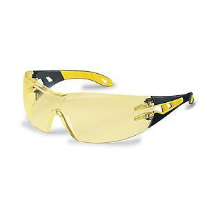 Uvex Pheos safety spectacles 9192385  - amber lens
