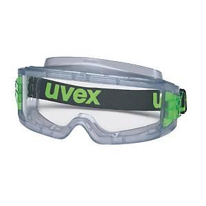 Vollsichtbrille uvex 9301.714 Ultravision, Acetat, klar