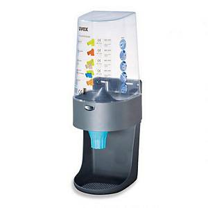 Uvex One 2 Click earplugs dispenser
