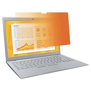 Filtre de confidentialité 3M Gold GF140W9B, pour notebooks, 14 écran large