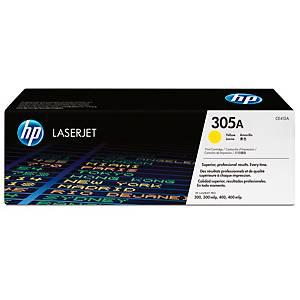 Toner HP CE412A, Reichweite: 2.600 Seiten, gelb