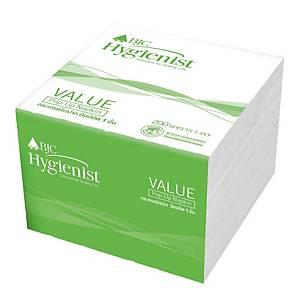 BJC HYGIENIST VALUE200 POP-UP NAPKIN 200 SHEETS - PACK OF 12