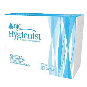 BJC HYGIENIST SPECIAL กระดาษเช็ดมือ 2 ชั้น 250 แผ่น แพ็ค 4 ห่อ