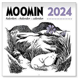 CC 5531 Muumi seinäkalenteri 2021 300 x 600 mm