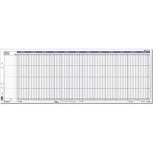 CC 7200 Projekti 2020 seinäkalenteri 835x297mm