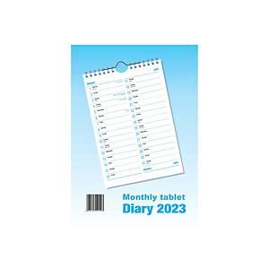 Monthly Tablet Spiral Calendar