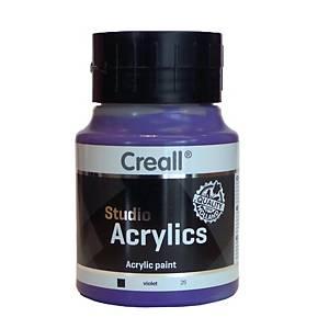 Creall peinture acrylique 500 ml violet