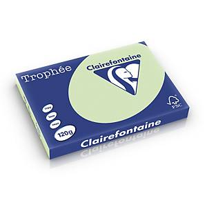 Clairefontaine Trophée 1315 coloured paper A3 120g jade - pack of 250 sheets