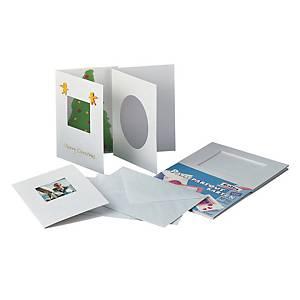 Carte Passe-Partout rectangulaire A6 - le paquet de 10