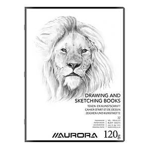 Cahier de dessin 22 x 29,7 cm 32 pages 120 gr