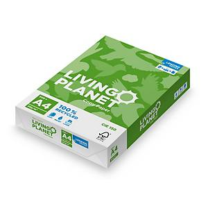 Lenzing Living Planet Paper A4 80gsm White - Box of 5 Reams