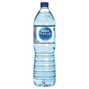 Eau Nestlé Pure Life 1,5 L - pack de 6 bouteilles
