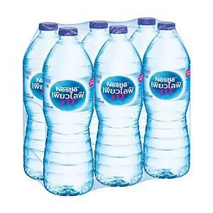 NESTLE น้ำดื่มเนสท์เล่เพียวไลฟ์ 1.5 ลิตร แพ็ค 6 ขวด
