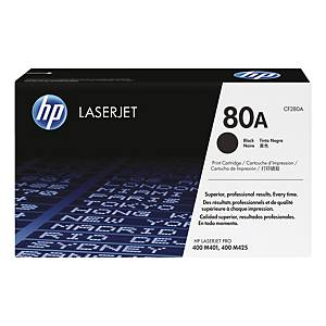 HP 80A (CF280A) toner cartridge, zwart