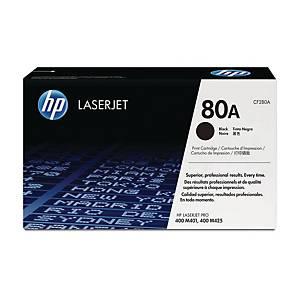 Cart. de toner HP CF280A pour LaserJet Pro 400, noir