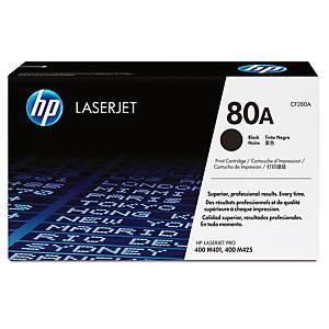 Toner HP CF280A, Reichweite: 2.560 Seiten, schwarz
