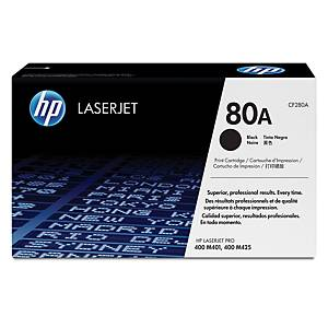 HP 80A CF280A laservärikasetti musta