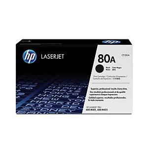 HP toner lézernyomtatókhoz 80A (CF280A) fekete