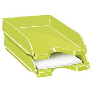 Tabuleiro de secretária Cep Gloss - poliestireno - verde