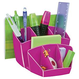 Stolový organizér Cep Gloss 9,3 x 14,3 x 15,8 cm, ružový
