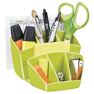 Organizer da scrivania Gloss by Cep polistirene verde