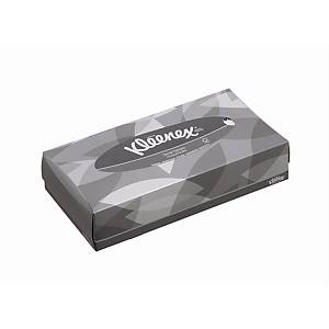 Kleenex Facial Tissues 8835 White 2 ply - Box of 100 Tissues