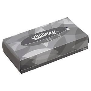 Caixa de 100 toalhetes faciais Kleenex - 21,5 x18,6 cm - Folha dupla