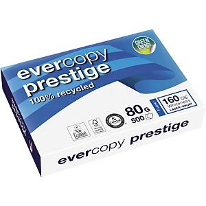 Kopierpapier Evercopy Prestige A4, 80 g/m2, weiss, Pack à 500 Blatt