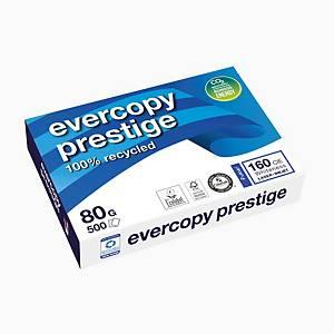 Papier pour photocopieur Evercopy Prestige A4, 80 g/m2, blanc, paq. 500feuilles