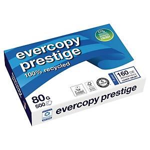 Papier recyclé blanc A4 Clairefontaine Evercopy Prestige - 80 g - 500 feuilles