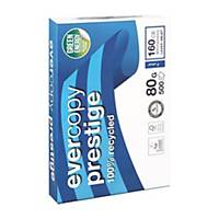 Clairefontaine Evercopy Prestige gerecycled wit A4 papier, 80g, 5 x 500 vellen