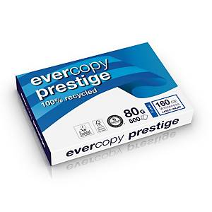 Clairefontaine Evercopy Prestige gerecycled wit A3 papier, 80g, 5 x 500 vellen