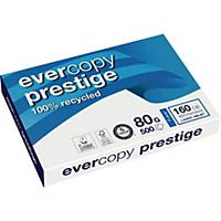 EVERCOPY PRESTIGE RECYCLED PAPER WHITE A3 80G  - REAM OF 500 SHEETS