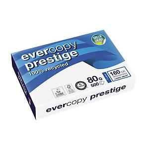 Resma de 500 folhas de papel reciclado Evercopy Prestige - A3 - 80 g/m²