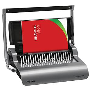 Fellowes Quasar+ comb binding machine - perforation 17 pages