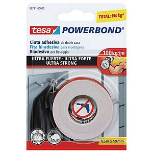 Tesa Powerbond Ultra Strong Mounting Tape 19mm X 1.5M