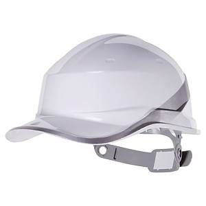 Delta Plus Diamond safety helmet white