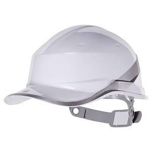 Casque de sécurité Deltaplus Diamond V - type casquette baseball - blanc
