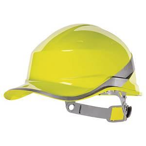 Casque de sécurité Deltaplus Diamond V - type casquette baseball - jaune