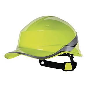 Hełm ochronny DELTA PLUS BASEBALL DIAMOND V, żółty