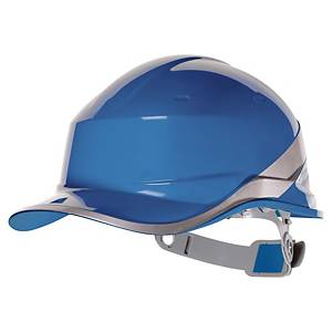 Delta Plus Diamond safety helmet blue