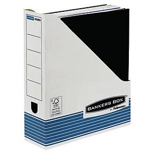 Stehsammler Fellowes 00263 System, Maße: 7,8 x 31,1 x 25,8 cm, 10 Stk, blau/weiß