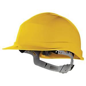 Casque de sécurité Deltaplus Zircon 1 - serrage glissière - jaune