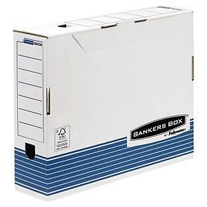Bankers Box archiefdoos voor A3 documenten, karton, blauw-wit, FSC, per 10 dozen