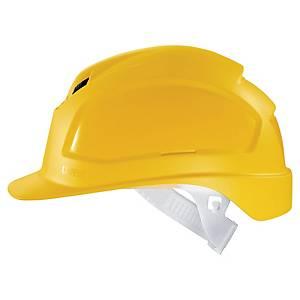 uvex pheos B safety helmet, yellow