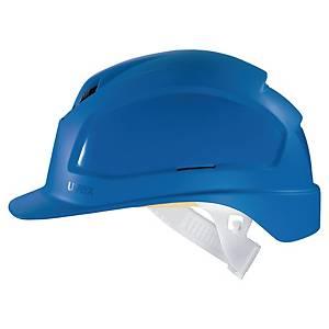 Elmetto Uvex Pheos B ventilato blu