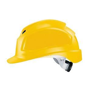 uvex pheos B-WR safety helmet, yellow