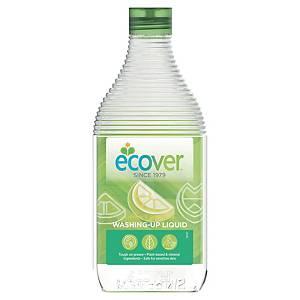 Produit vaisselle Ecover citron et aloe vera, la bouteille de 950 ml