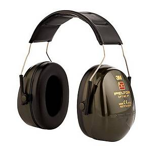 Casque anti-bruit serre-tête 3M™ Peltor™ Optime™ II, SNR 31 dB, noires
