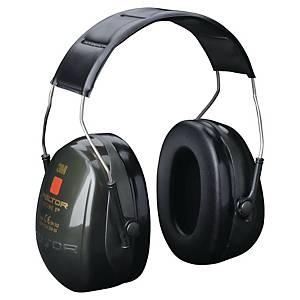 Kapselgehörschützer mit Kopfbügel 3M Optime II, 31dB, grau/schwarz